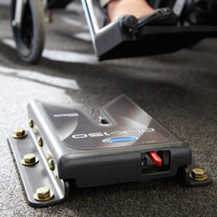 EZ Lock Wheelchair Docking System | Handicap Vehicle Securement