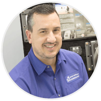 Dan Arbuckle - Mobility Product Manager and Accessibility Equipment Expert