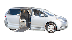 Toyota Wheelchair Van Conversions