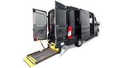 Commercial Use-Ready Wheelchair Vans