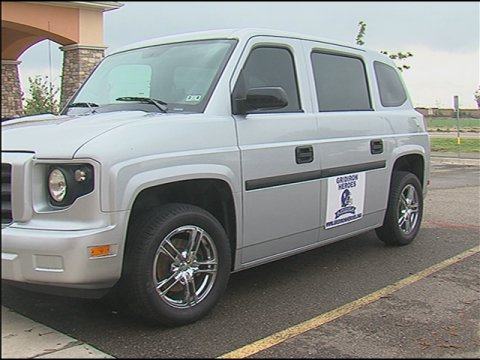 Texas Gridiron Heroes Football Spinal Cord Injury Foundation Wheelchair Van